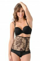 Couture Black Lace Print Belly Bandit